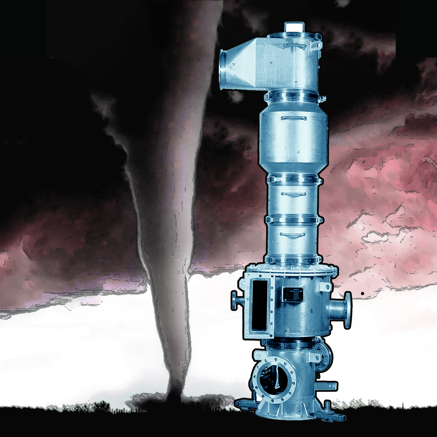 Combining The Power Of A Tornado With Industrial Flash Dryers