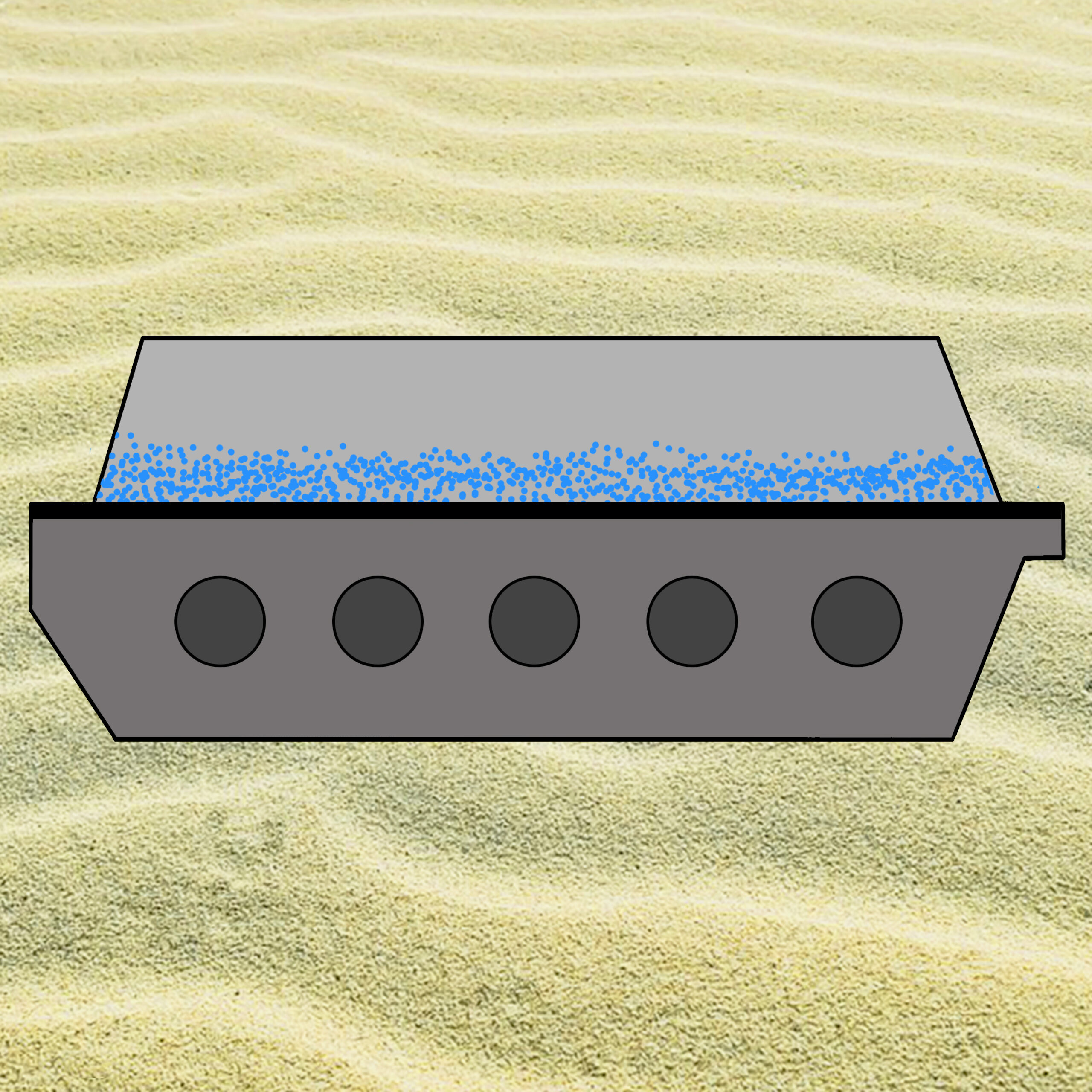 Fluidization Creates Both Quicksand and Fluid Bed Processing