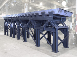 Vibrating Sand Conveyor