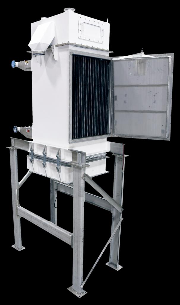 Carrier Bulk Material Heat Exchanger