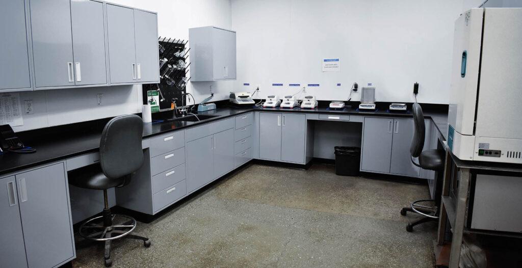 CPEG Lab Testing Moisture Testing